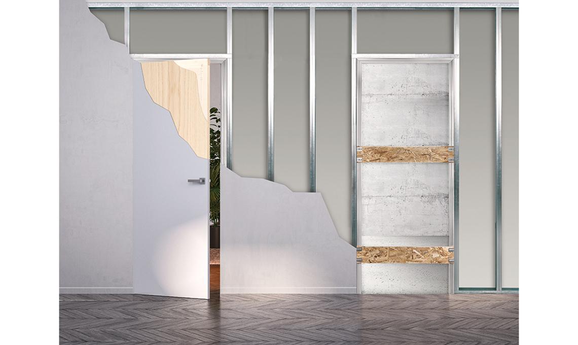 Armadio A Scomparsa Filo Muro.3 Motivi Per Scegliere Le Porte Filomuro Casafacile