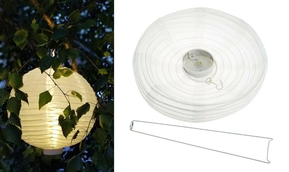 Lampade senza fili per illuminare gli esterni casafacile