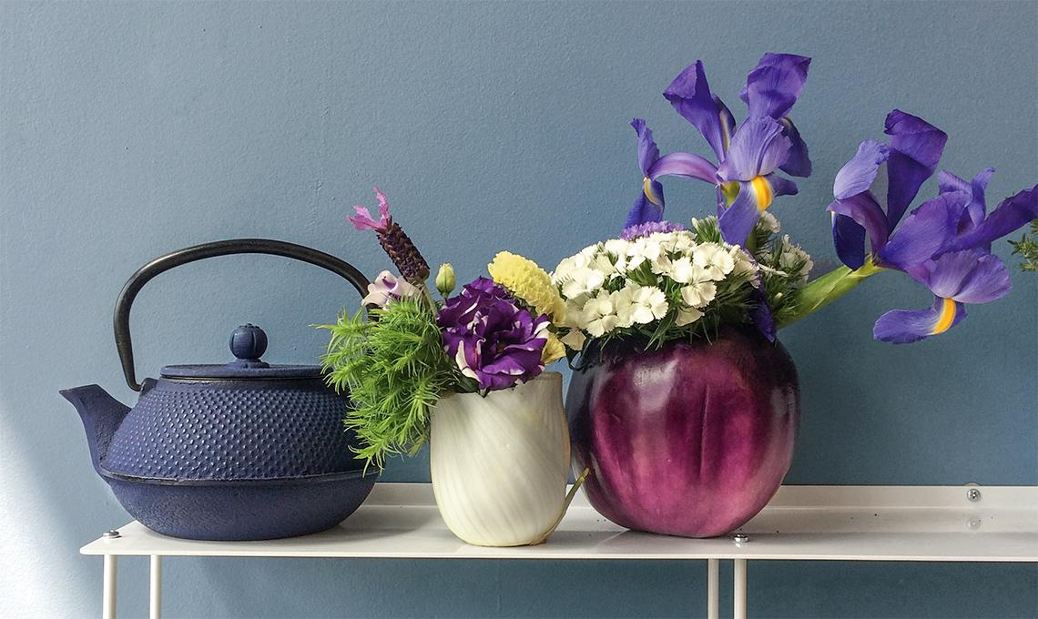 Trasforma le verdure in vasi per i fiori casafacile for Decorazioni con verdure e ortaggi