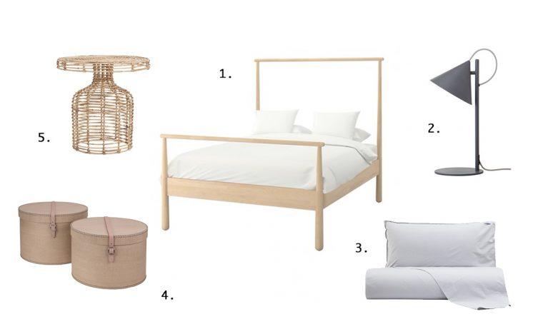 I top 5 per una camera da letto nei colori naturali