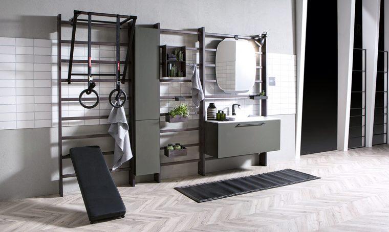 Crea un angolo gym & spa in bagno