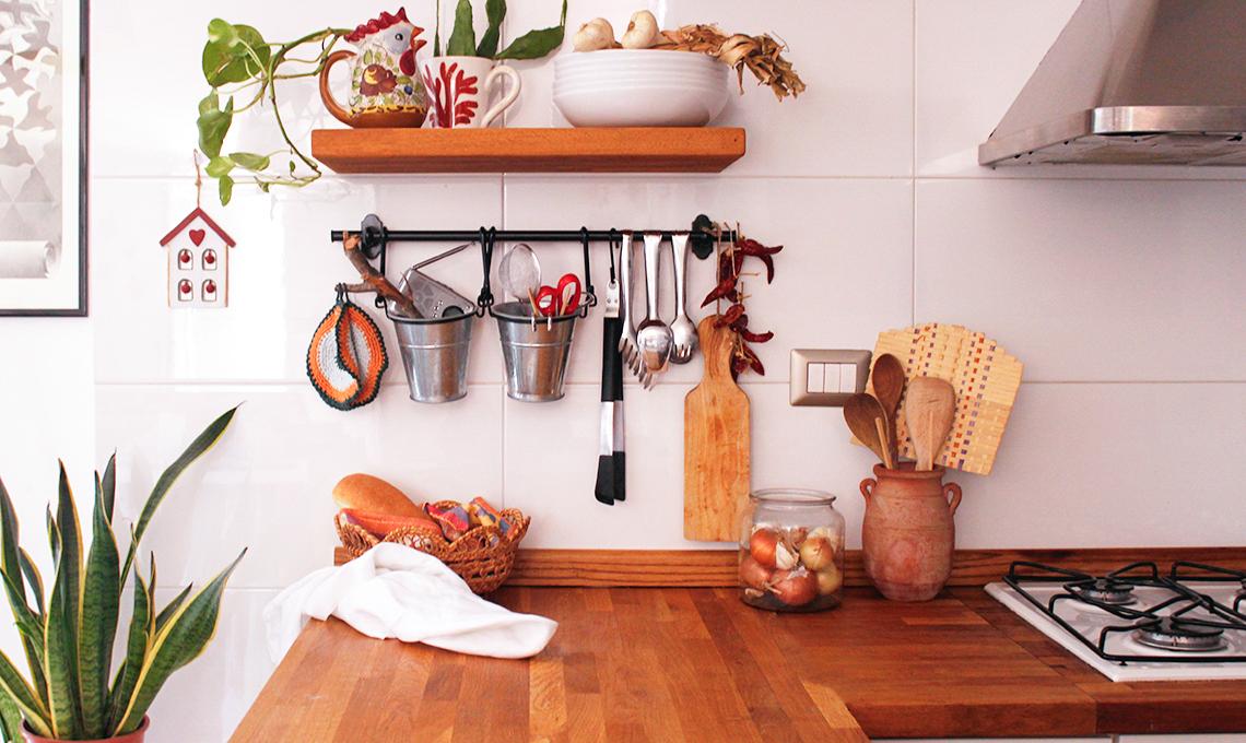 Tieni in ordine il piano di lavoro della cucina - CASAfacile