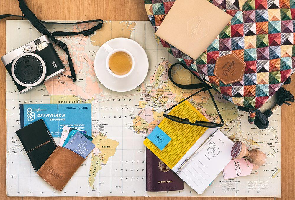 When in Greece, il design per gli amanti dei viaggi