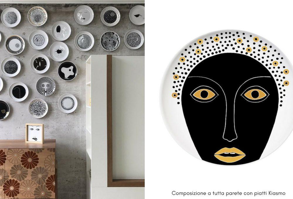 4 consigli per decorare le pareti con i piatti