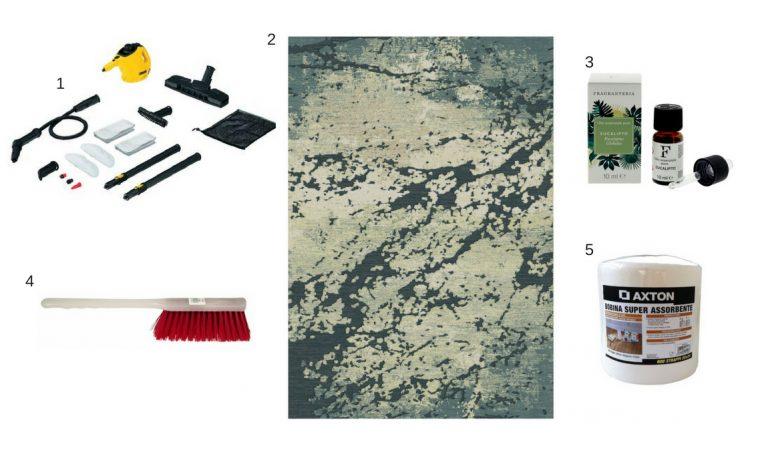 Come ravvivare i colori e igienizzare in modo naturale i tappeti