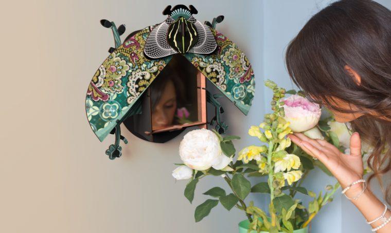 Design e handmade: decorare casa con i coleotteri