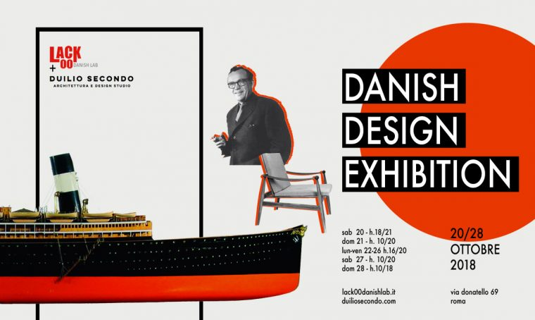Danish Design Exhibition a Roma: un evento dedicato ai grandi maestri e alle loro opere