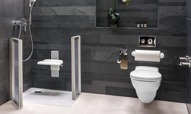 Il bagno accessibile e di design