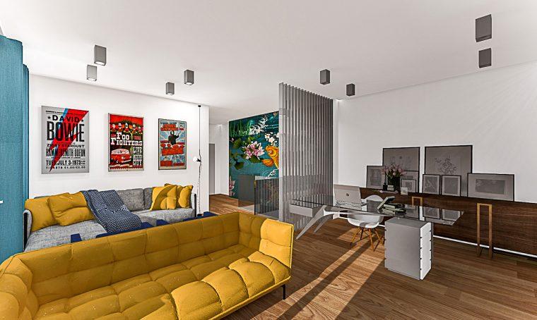 Ristrutturazione di un appartamento di 140 mq su due piani