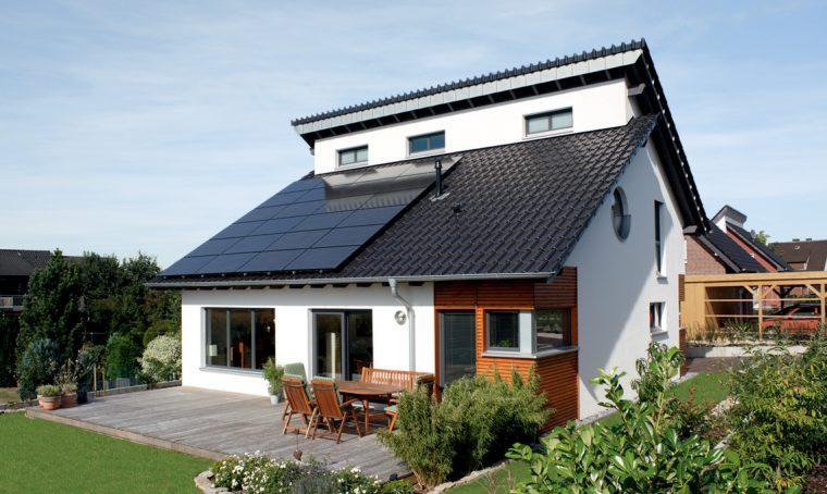 Una casa dal cuore green