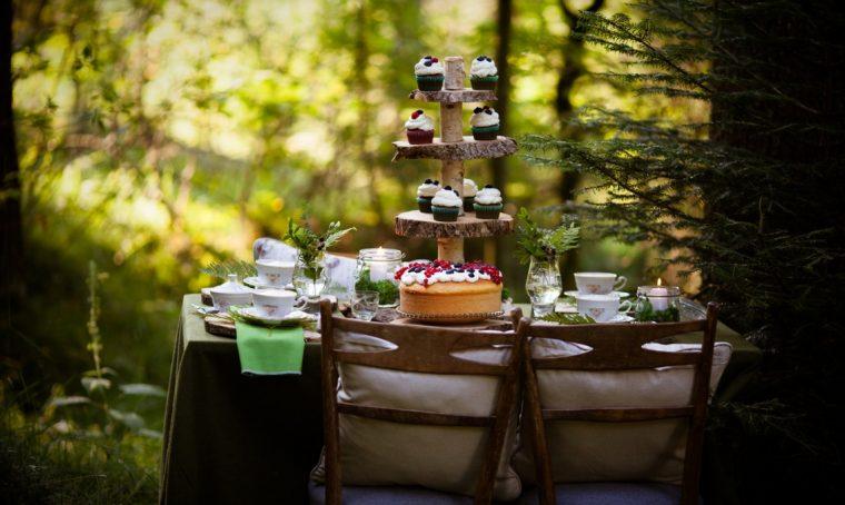 Come allestire una colazione nel bosco