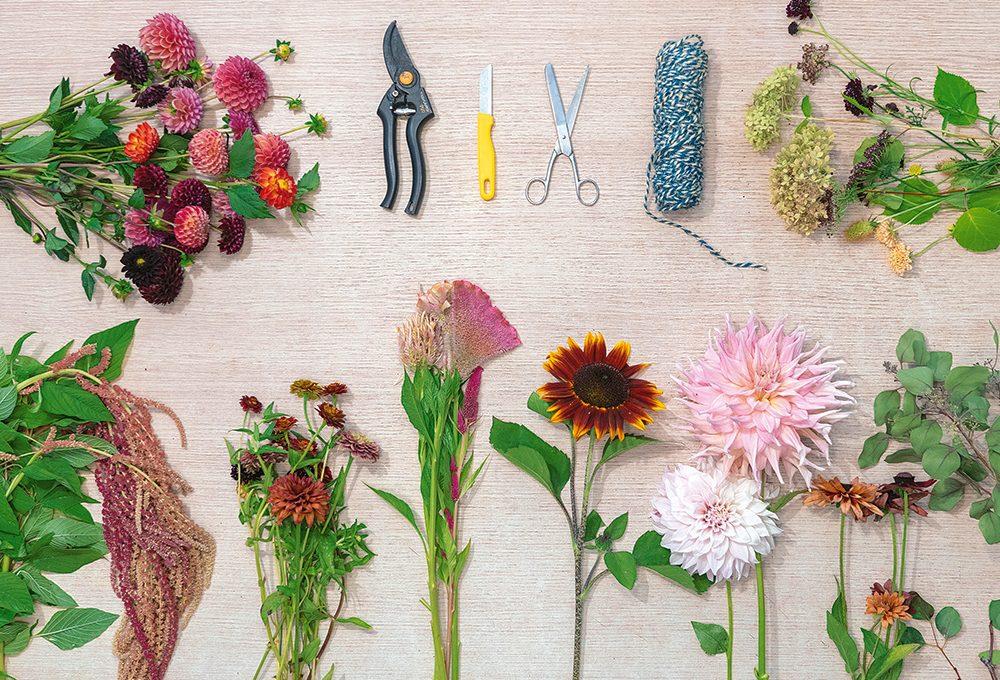 Realizza un mazzo di fiori 'sottosopra'