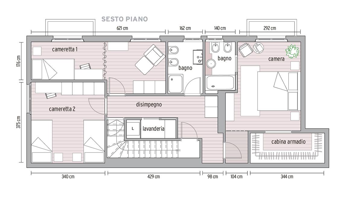 Ristrutturazione Di Un Appartamento Di 140 Mq Su Due Piani Casafacile