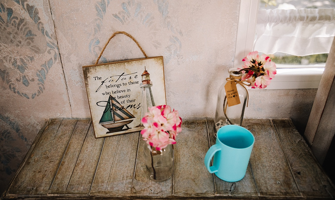 Roulotte restyling in stile shabby casafacile