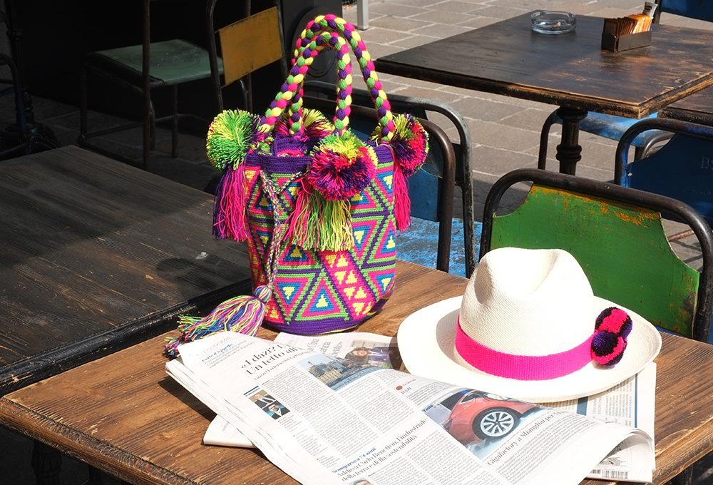 Mochila Milano: design e artigianato colombiano