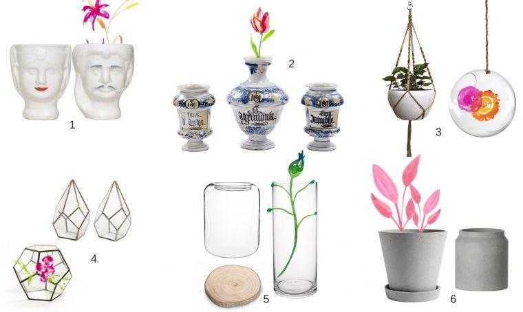 Prendere ispirazione dai fioristi per la scelta dei vasi