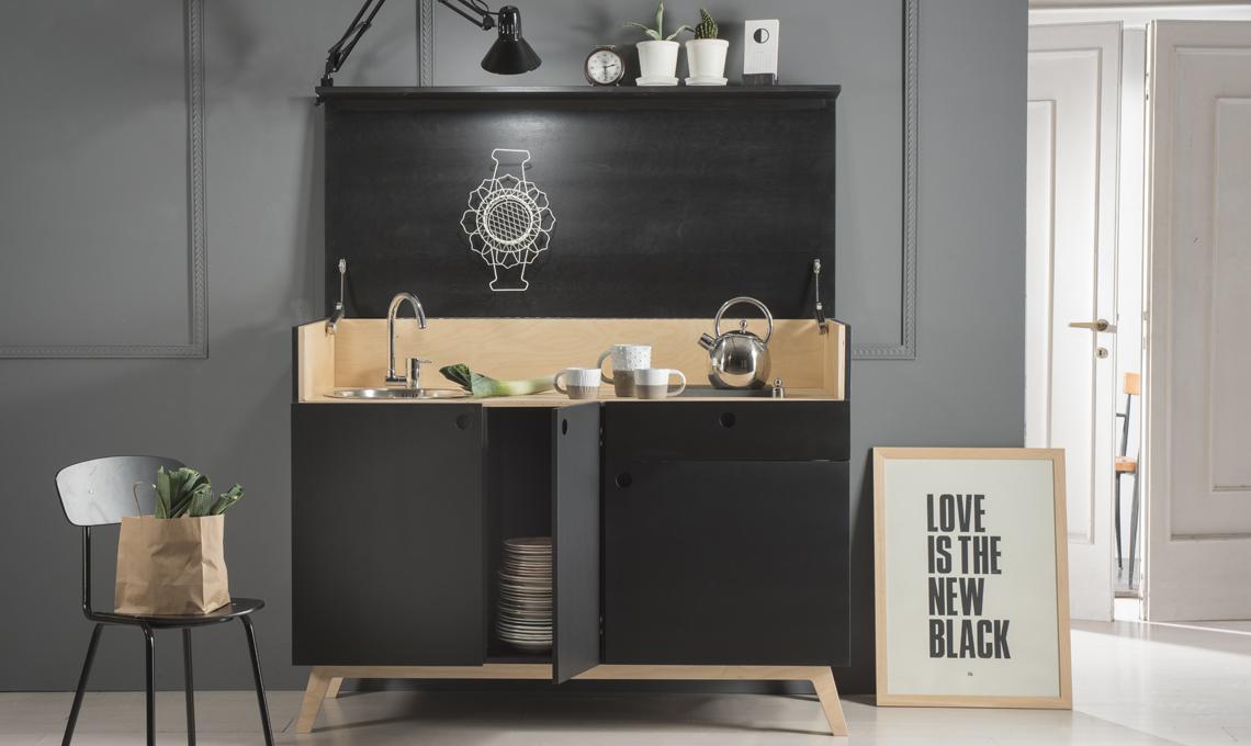 5 mini cucine per piccoli ambienti casafacile - Cucine per ambienti piccoli ...