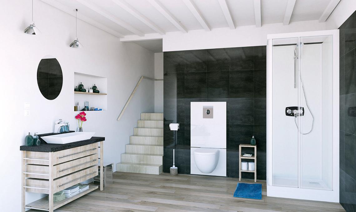 Bagno In Camera Senza Scarico : Realizza il bagno e la lavanderia dove non ci sono gli scarichi