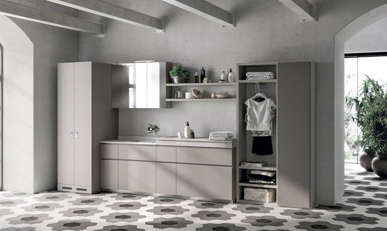 Realizza il bagno e la lavanderia dove non ci sono gli scarichi