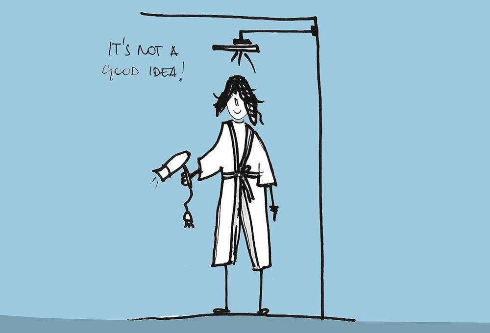 Come si legge un impianto elettrico: indicazioni ed errori da evitare nel bagno