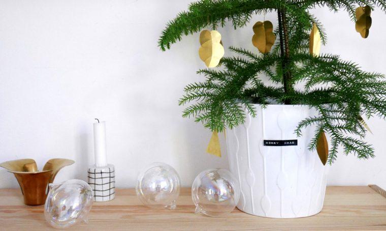 Natale: decorazioni in ottone fai-da-te
