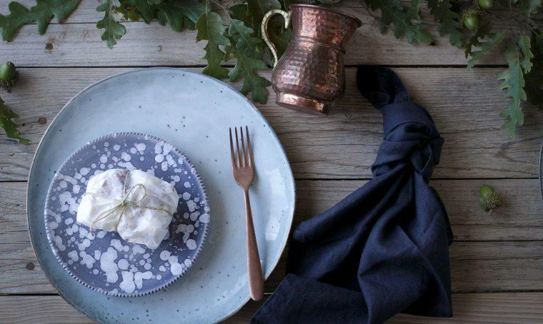 Cadeau golosi per la tavola rustica di novembre