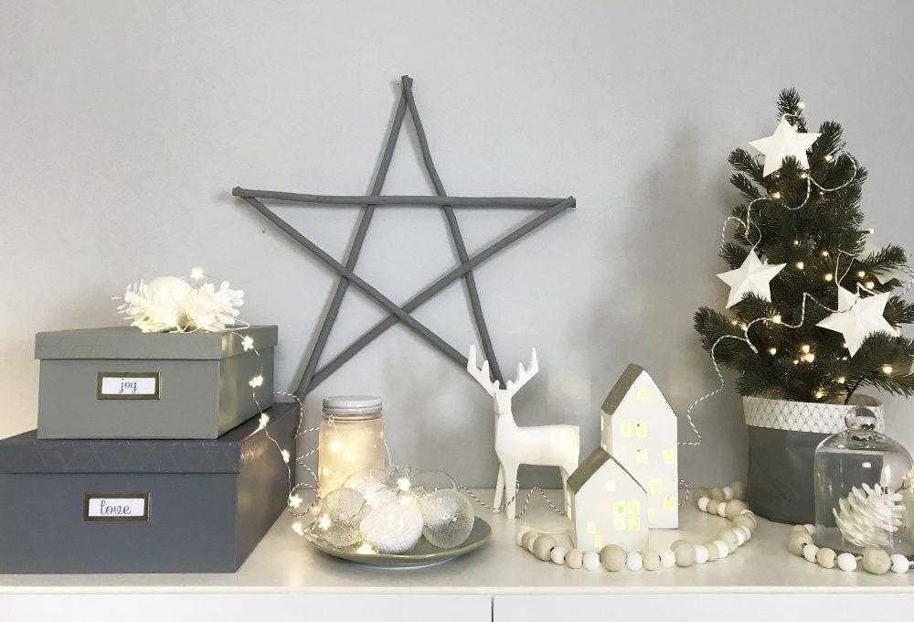 Natale: la credenza si veste a festa