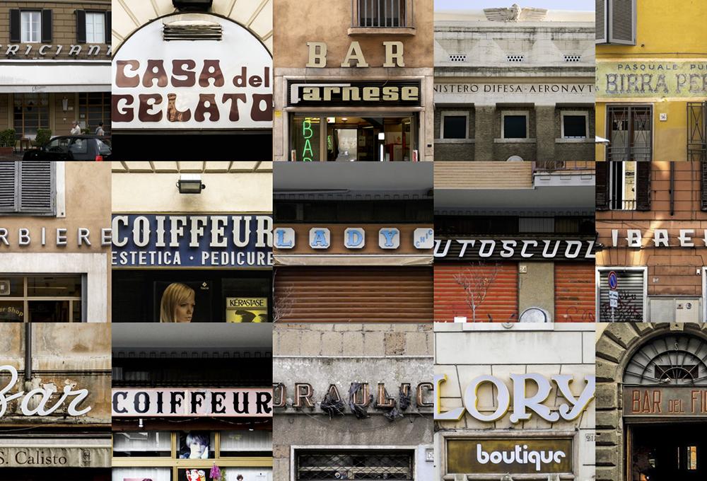 Il lettering urbano nelle città italiane
