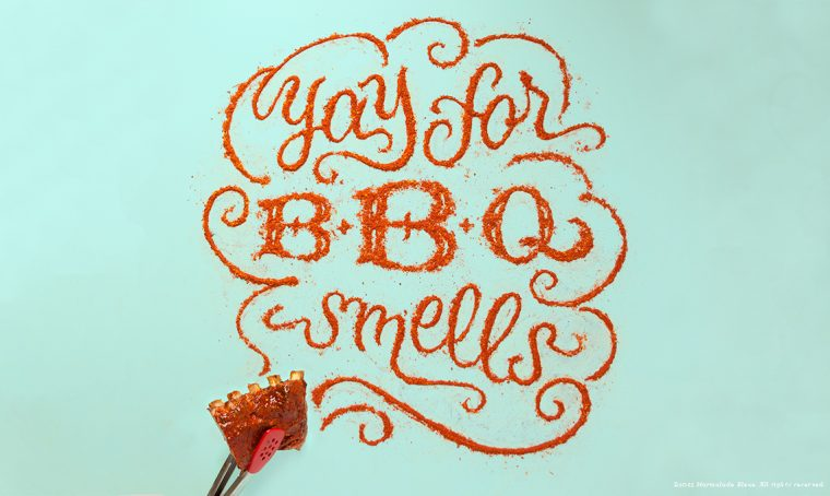 Tendenza Food Typography