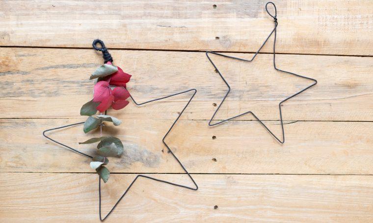 Come realizzare decorazioni natalizie in fil di ferro