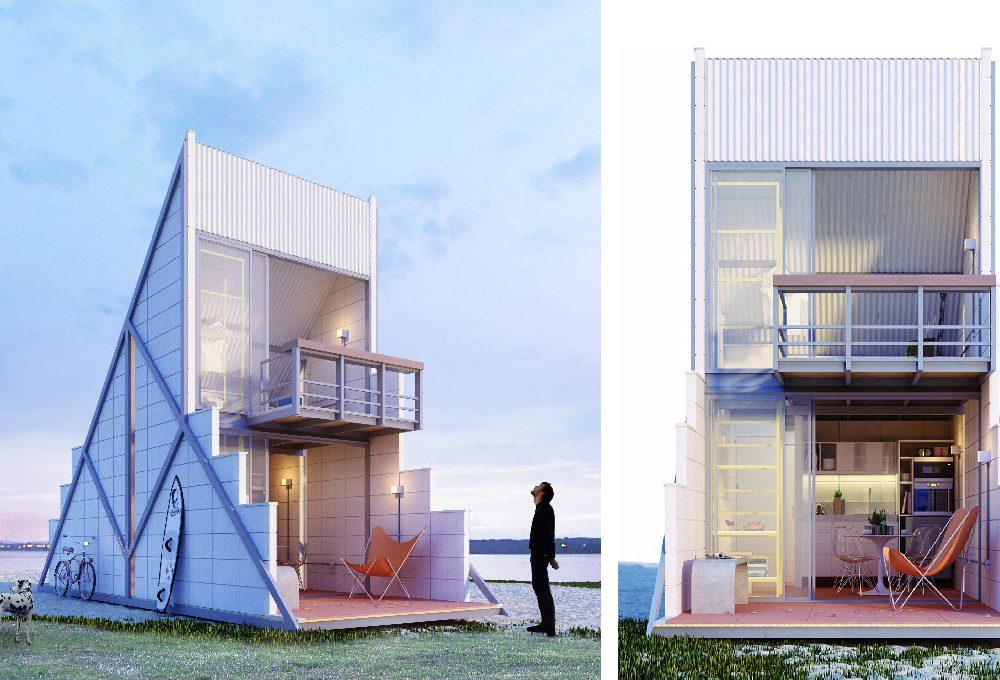 Refùgio HT: una casa di 40 mq accogliente ed economica