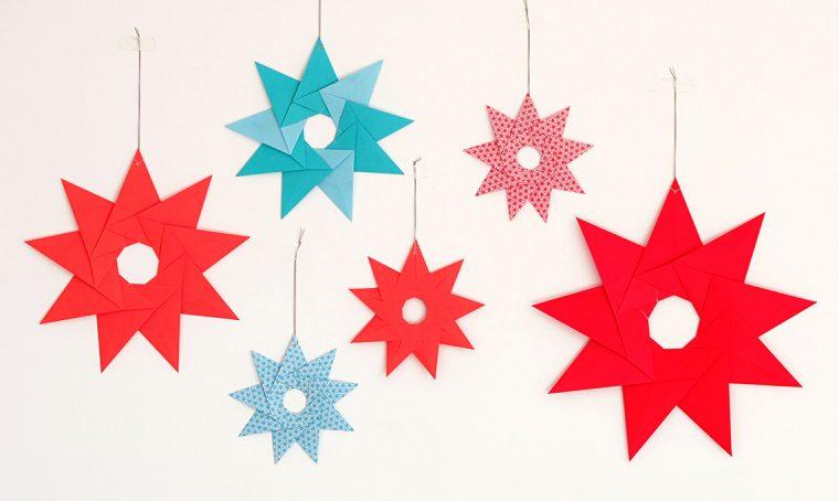 Natale: decorare la casa con le stelle origami
