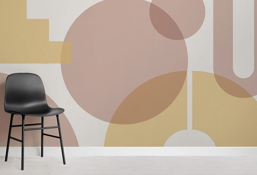 Le carte da parati di MuralsWallpaper ispirate al Bauhaus