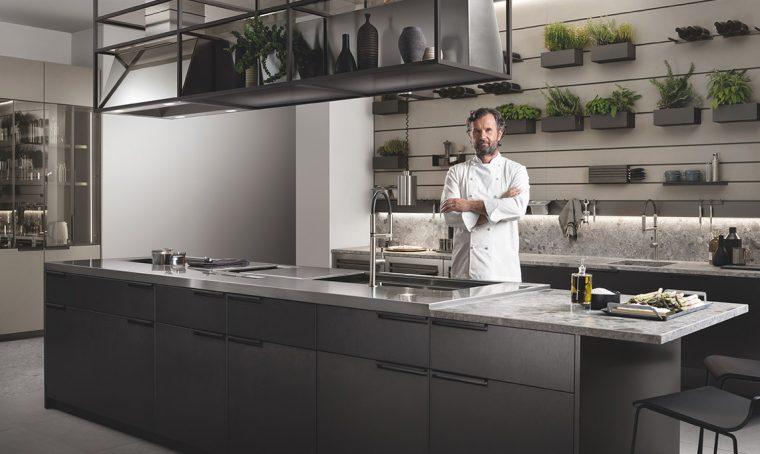 Il fascino di una cucina professionale a casa tua