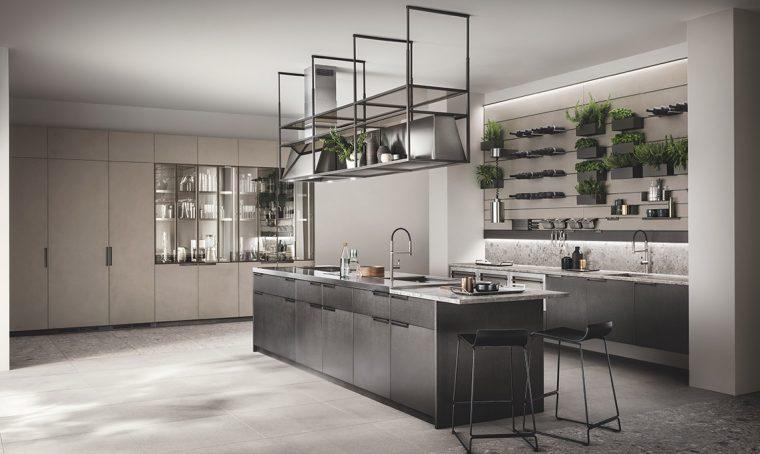 Tecnologie a bellezza per una cucina da vivere