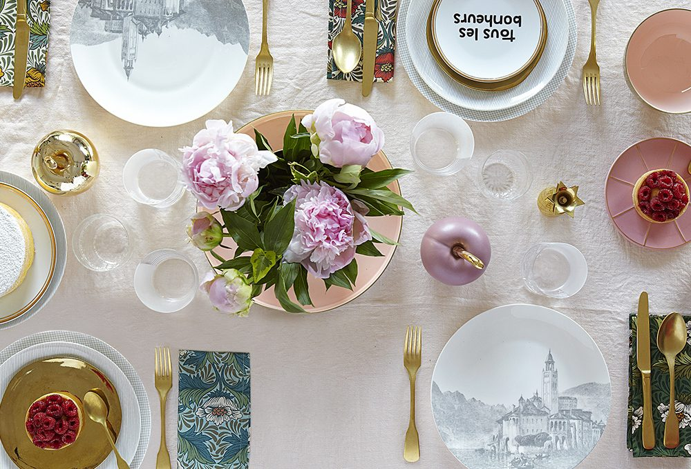 Tendenze a tavola: ottone & millennial pink
