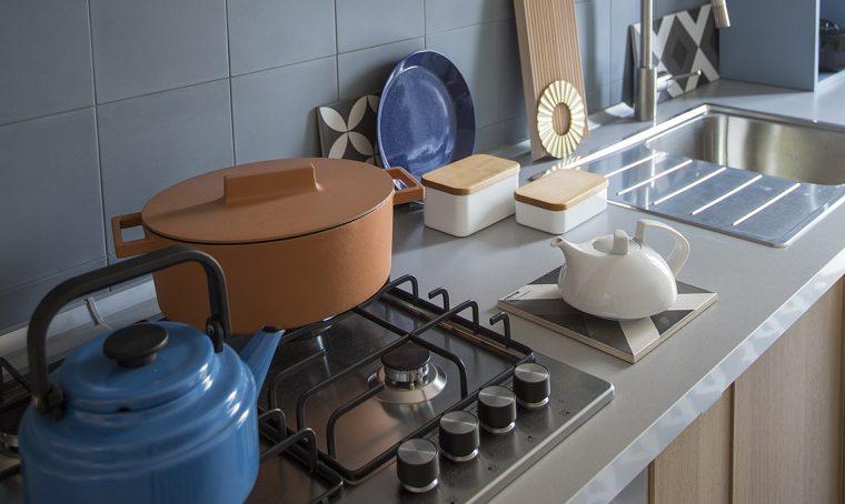 La cucina super-organizzata in 3,6 metri lineari