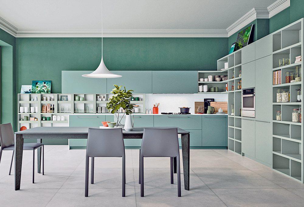 Materiali 'total look' per la cucina