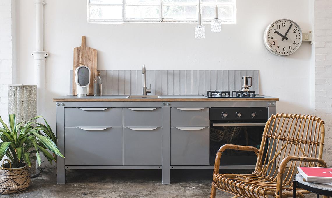 cucine modulari in metallo made in italy casafacile