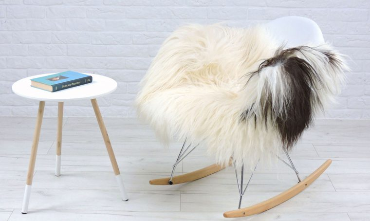 Stile nordico: la pelle di pecora