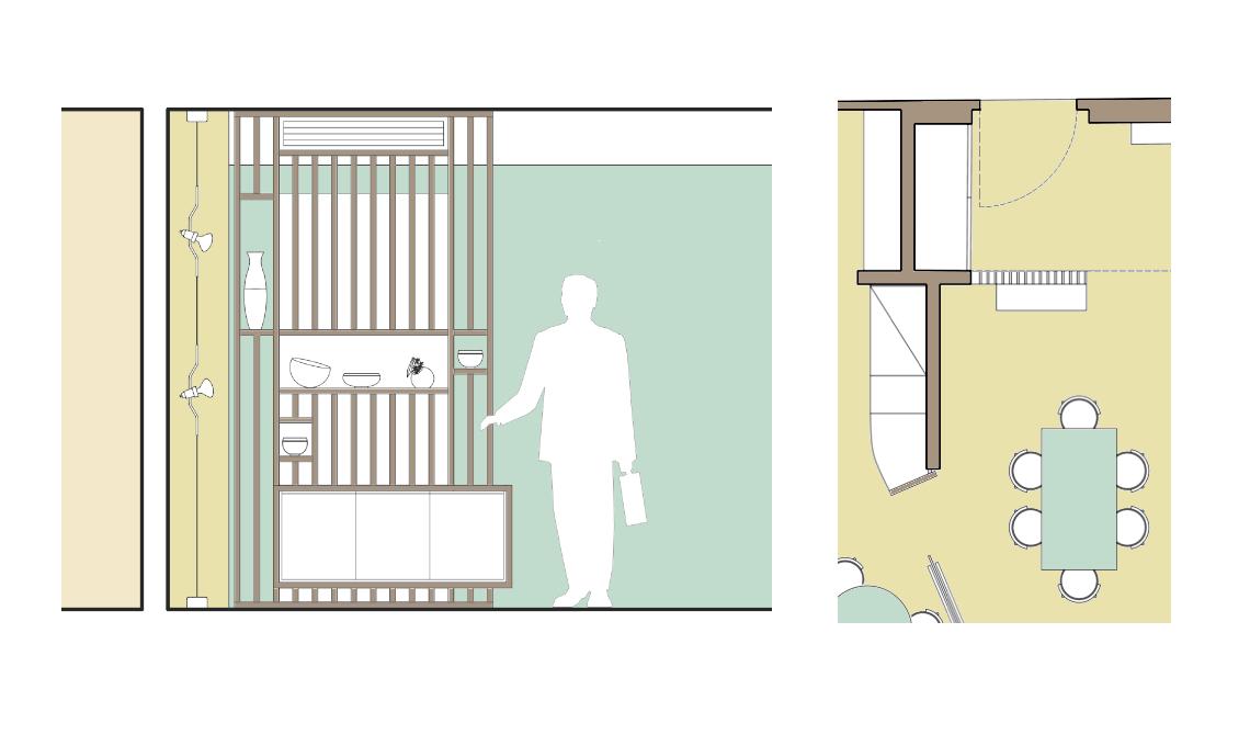 Progetto su misura di un arredo per l 39 ingresso casafacile for Progetto arredo casa on line