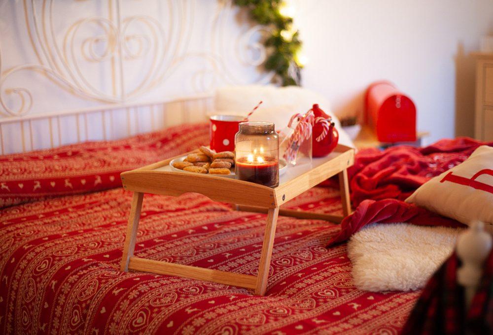 Natale: come decorare la camera da letto