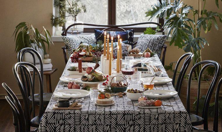 Copia lo stile di Marimekko per decorare a festa la tavola