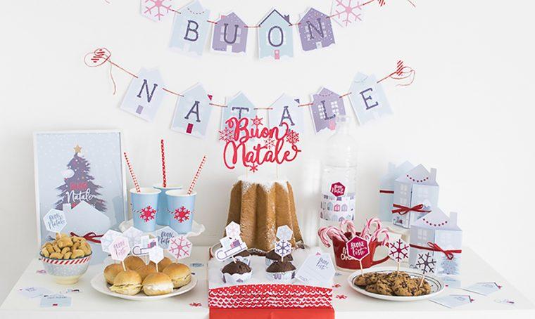 Come decorare la tavola per la merenda di Natale