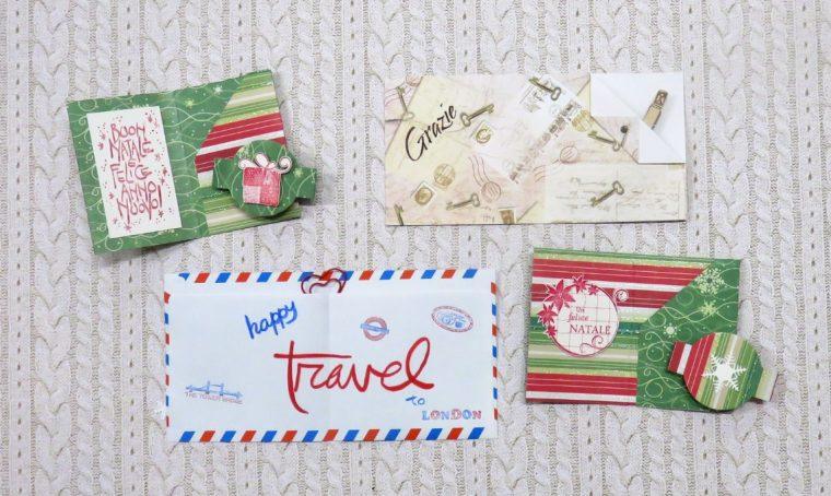 Natale: buste fai-da-te per Gift card e doni in denaro