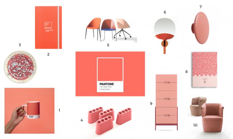 10 idee regalo in Living Coral, il colore Pantone 2019