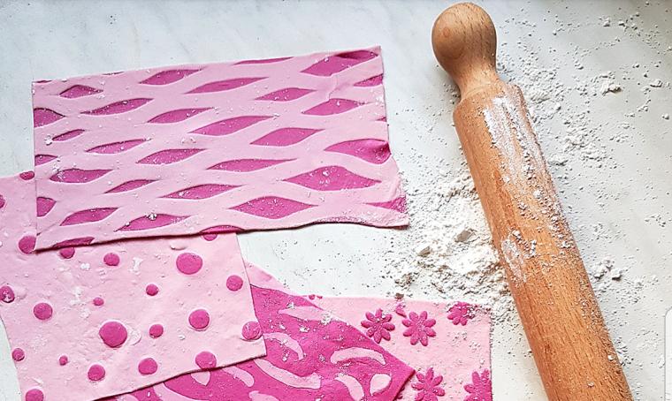 Come realizzare tessuti di pasta