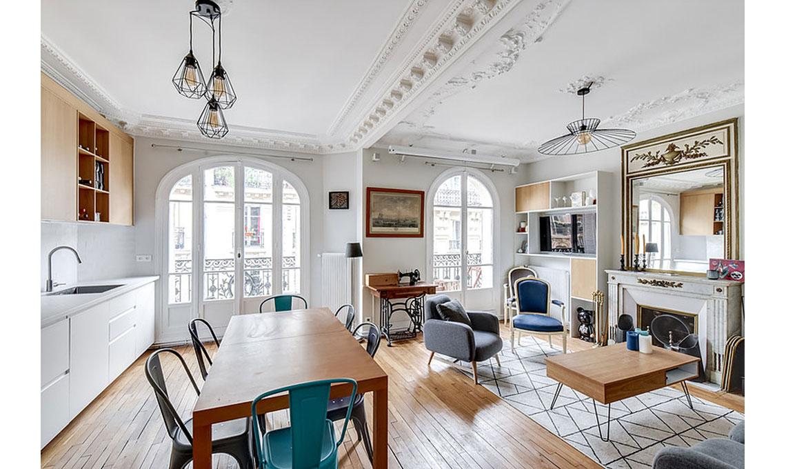 Sei consigli per decorare casa in stile parigino casafacile for Arredamento stile parigino