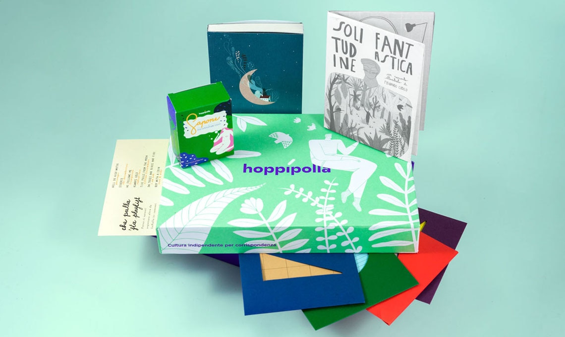 Hoppípolla - cultura indipendente per corrispondenza (da 23 euro a box)
