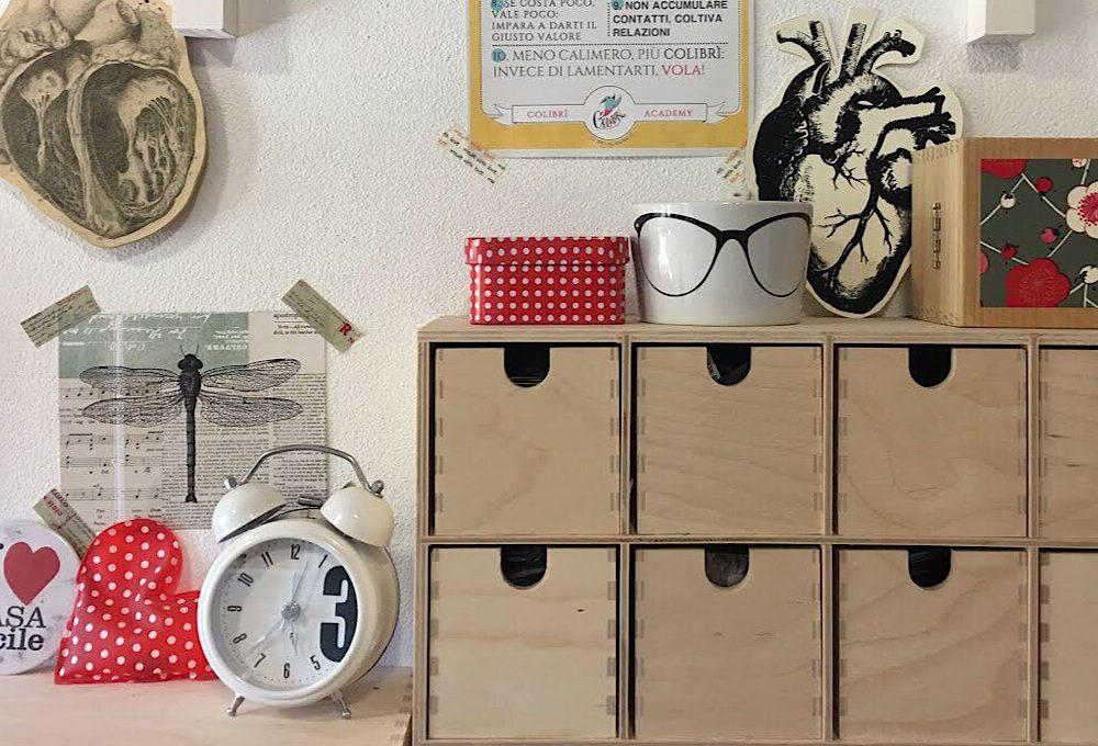 I consigli della creativa per avere una craft-room ordinata
